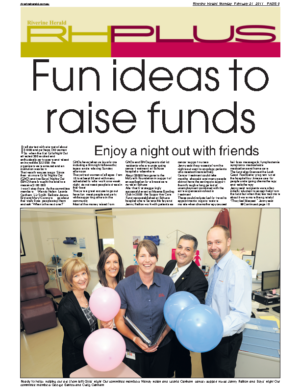 Fun ideas to raise funds – Riverine Herald, Monday, February 21, 2011